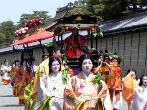 葵祭(京都御苑にて)