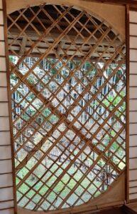 祇王寺の吉野窓