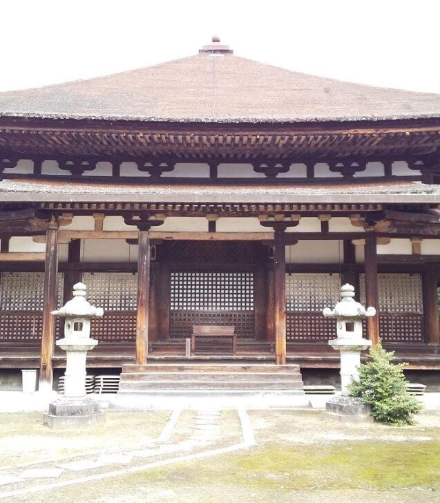 法界寺の阿弥陀堂