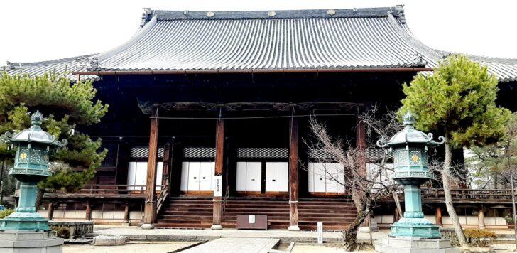 百万遍知恩寺の本堂