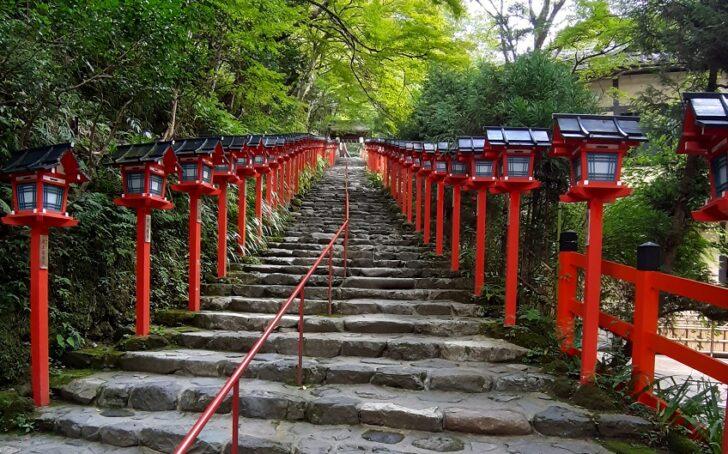 貴船神社の入り口