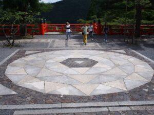 鞍馬寺の六芒星