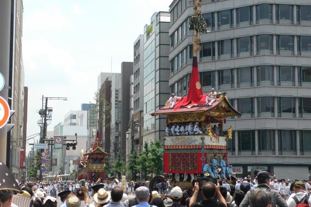 祇園祭辻回し