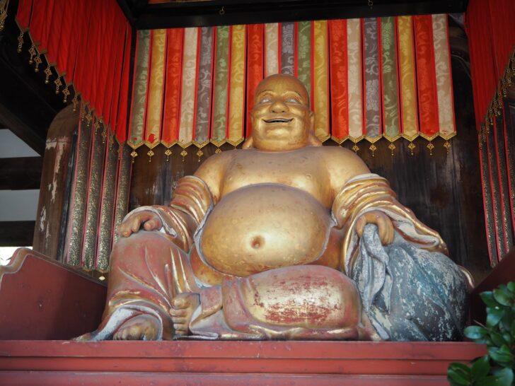 萬福寺の布袋さん