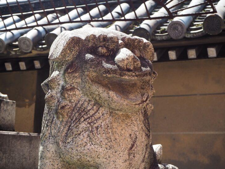 下御霊神社の狛犬