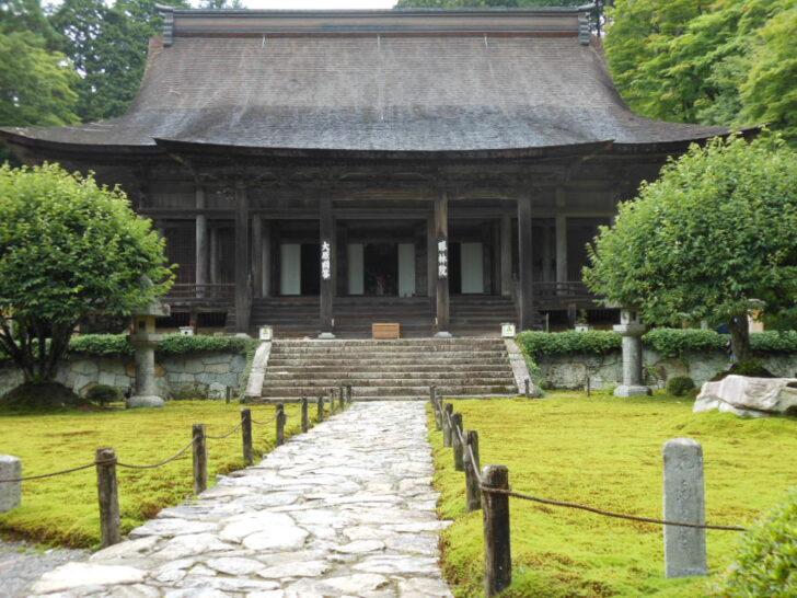 勝林院の本堂