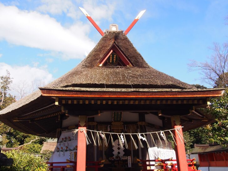 吉田神社の大元宮