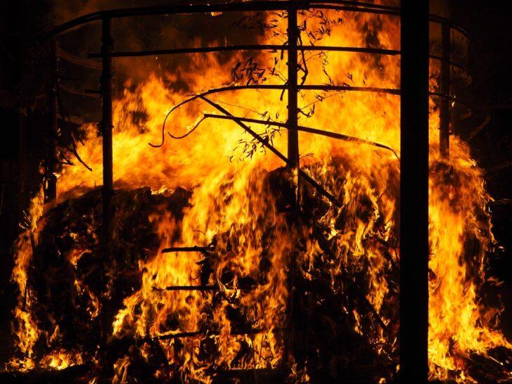 吉田神社の火炉祭