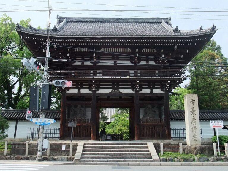 広隆寺の楼門