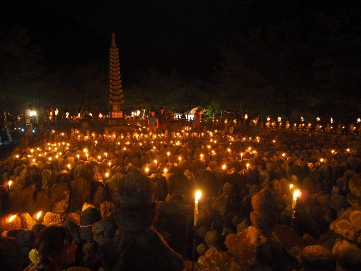 化野念仏寺の千灯供養
