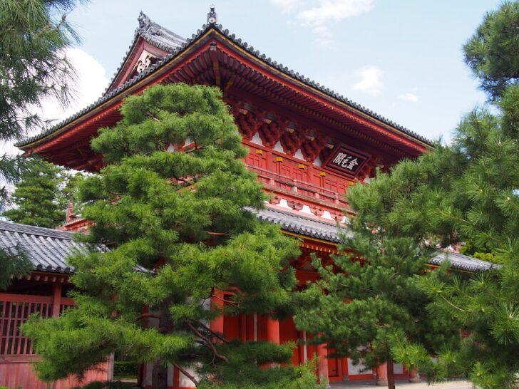 大徳寺三門