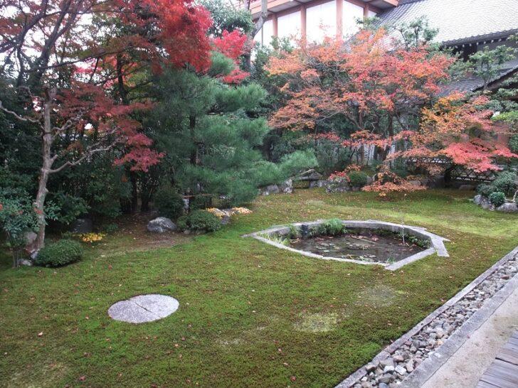 本法寺の三巴の庭