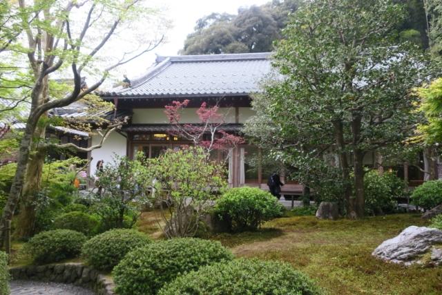 鈴虫寺の書院