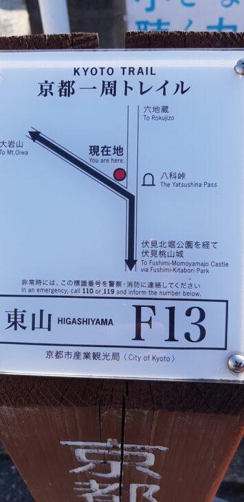 案内板F13