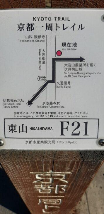 案内板F21