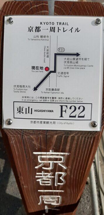 案内板F22