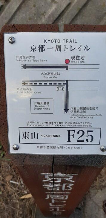 案内板F25