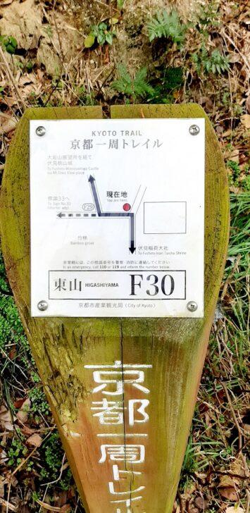 案内板F30
