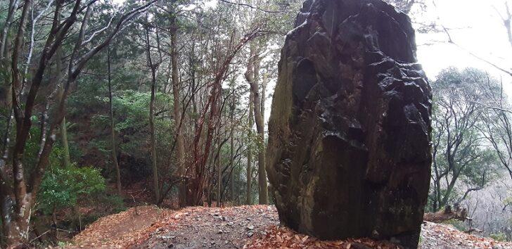 大きな岩(大文字山)