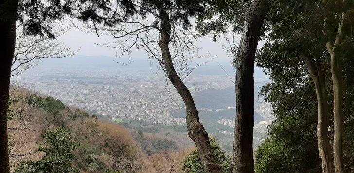 比叡山から洛北の絶景