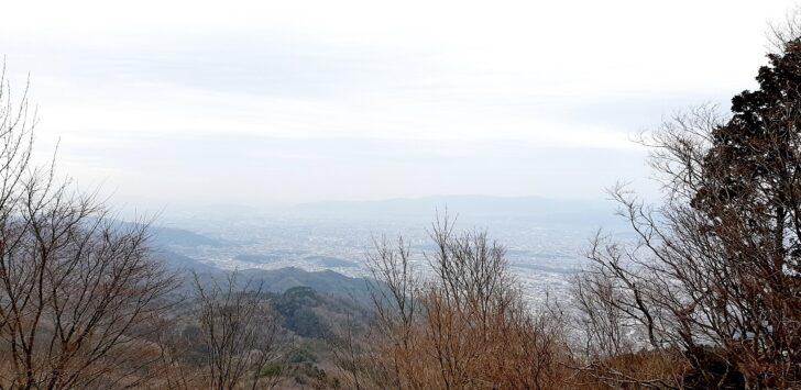 比叡山から大阪方面の絶景