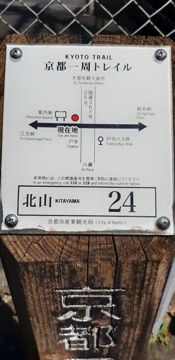 案内板24(北山)