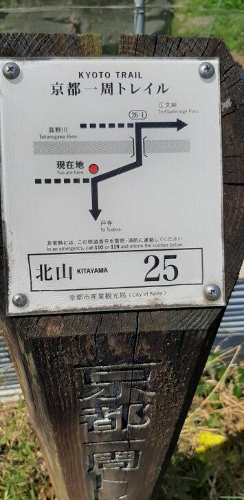 案内板25(北山)