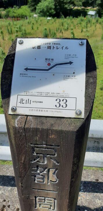 案内板33(北山)