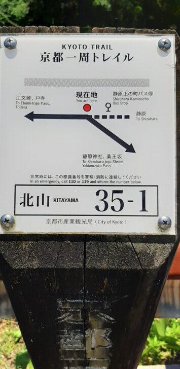 案内板35-1(北山)