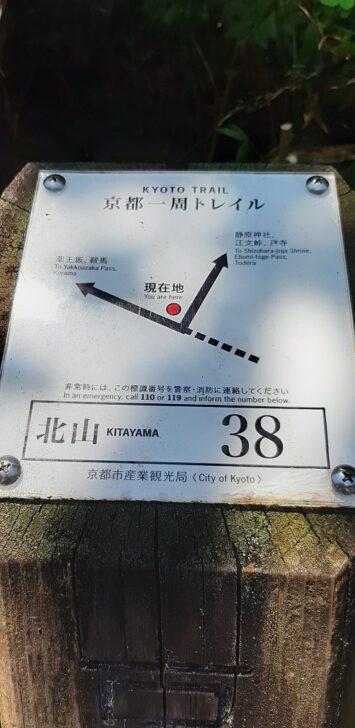案内板38(北山)