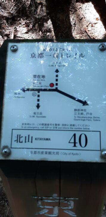 案内板40(北山)