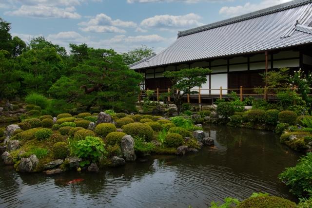 京都十刹1位の等持院