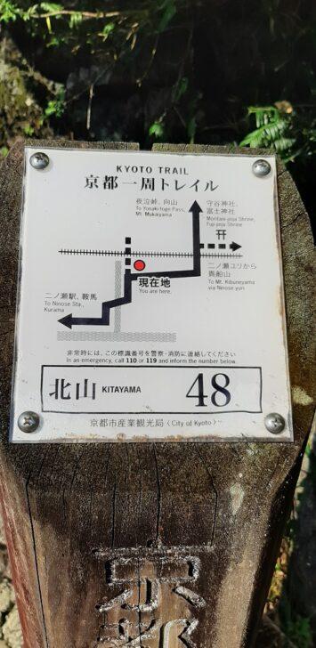 案内板48(北山)