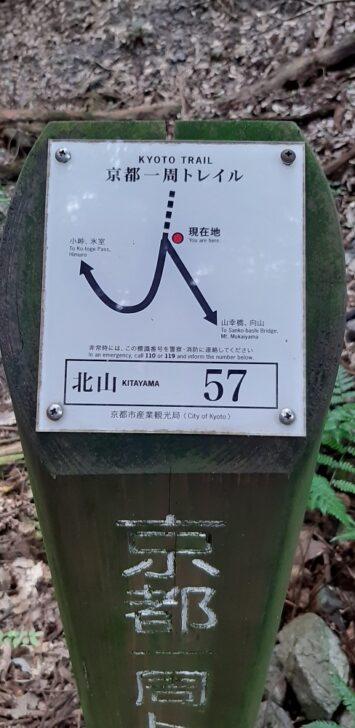 案内板57(北山)