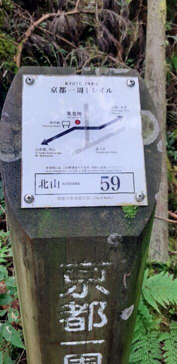 案内板59(北山)