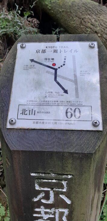 案内板60(北山)