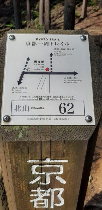 案内板62(北山)