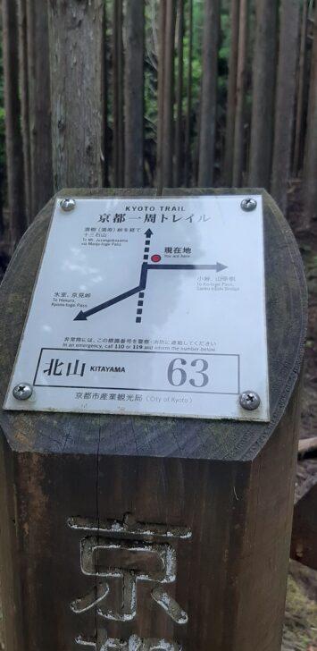 案内板63(北山)