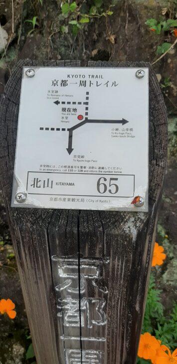 案内板65(北山)