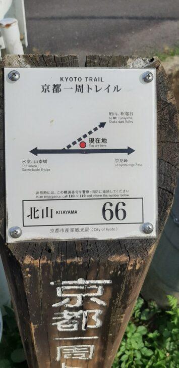 案内板66(北山)