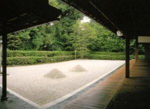 大仙院の枯山水庭園(撮影禁止のためポストカードより)