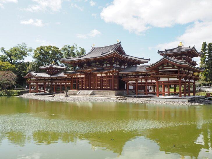 平等院の浄土式庭園